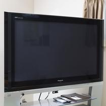 お部屋/和室大部屋|大型の液晶テレビを設置!
