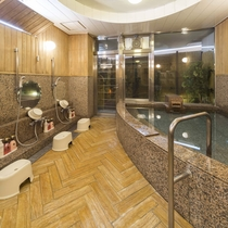 女性大浴場/広々とした大浴場は一日の疲れが癒やされると好評です!