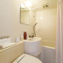 お部屋/エコノミー和室|ウォシュレット付トイレ&バスルーム