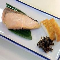 ■朝食(鮭)■