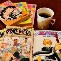 *連泊でも退屈知らず♪漫画もございます。