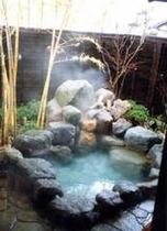 竹の露天風呂