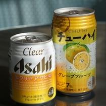 選べるチューハイor缶ビール♪