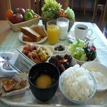 朝食メニュー 一例