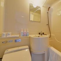 *ユニットバス/全客室にユニットバスを完備いたしております。