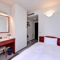 *シングル(客室一例)/インターネット接続無料(全客室Wi-Fi、LAN対応)快適なホテルステイを。