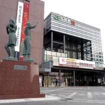 *JR弘前駅からは徒歩で3分程度の好立地です!コンビニや飲食店も多く快適にお過ごし頂けます!