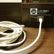 全室LANケーブル設置