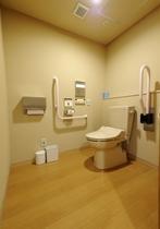 バリアフリー対応客室「大観」トイレ