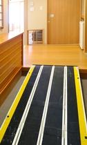 オーシャンビュー「大観」バリアフリー対応客室スロープ