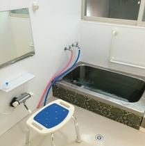 【お風呂】24時間入浴可能★麦飯風呂ステンレス浴槽