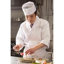 日本料理「松風」料理長 服部