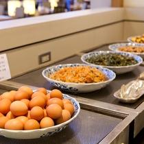 【Garden Cafe朝食ブッフェ】和食お惣菜コーナー