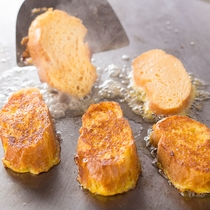 【Garden Cafe】目の前で出来たてのフレンチトーストを(朝食ブッフェ)