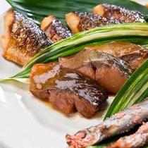 (朝食一例)魚料理