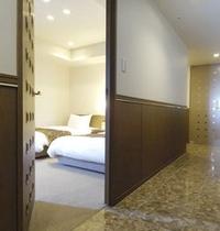 プレミアム浅間View和洋スイート・ベッドルーム