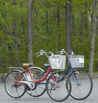 レンタルサイクルもご用意 北軽井沢の森林コースをサイクリングで満喫