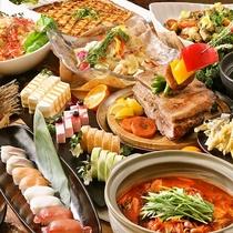 【バイキングディナー】信州長野、上州群馬の『美味しい』を集めた名物揃いのバイキング