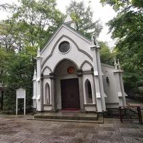【観光スポット・旧軽井沢】 旧軽井沢礼拝堂
