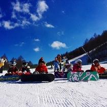 高原スノーリゾートでのふたりor家族の休日 近隣エリアにはたくさんのスキー場♪
