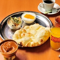 朝食カレーセット