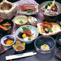 *海鮮陶板焼き会席201012