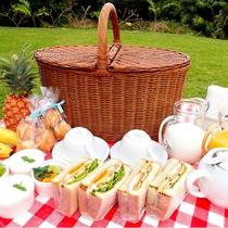 *【朝食一例】美容や健康に良いフルーツや野菜を中心とした朝食をご用意しております