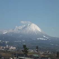【客室からの眺め】大山ビュー!美しい景色をご覧いただけます