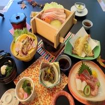 【夕食一例】秋風会席(2016年・秋)