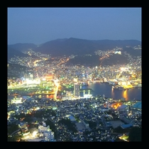長崎1000万ドルの夜景を体験できます