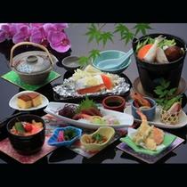 長崎でとれる旬の食材を用いた地魚会席
