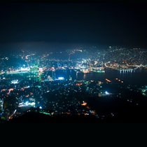 絶景の長崎夜景をお楽しみ頂けます。
