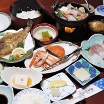 *【夕食一例】磯魚会席