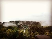 小上がりからの眺め_雲海