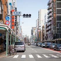*【周辺】ホテル近くにある「合羽橋」。厨房用品一切に係わる専門店が170店舗以!お時間があれば是非!