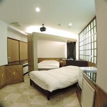 *ツインルーム一例/ほっと落ち着く和風のお部屋も。広さ30平米以上でゆったり♪