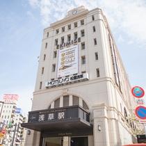 *【アクセス】東武浅草駅からは徒歩約10分。東武スカイツリーライン&日光線で観光の拠点に◎!