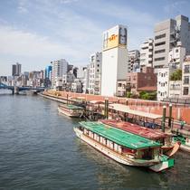 *【浅草観光】浅草駅からすぐ!屋形船でお台場やスカイツリーなどをお楽しみいただけます♪