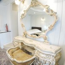 *特別室一例/お姫様気分を味わえる大きなドレッサーもあり女性の身支度も快適♪