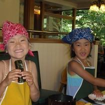 【夏季限定】料理人と一緒に!ちびっこシェフ♪
