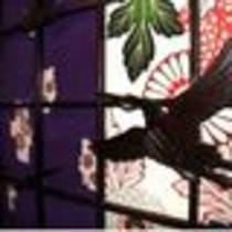 館内は大正モダンのコンセプトを表す可愛い飾り格子も♪