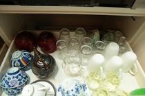 グラス、食器