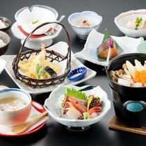 【《冬》ミニ会席】新鮮なお造りや、天ぷらなど。旬の食材をお楽しみください