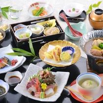 *【《夏》紫御膳】旬の食材を厳選し、心を込めてお届けする和食膳。ゆらりの定番!