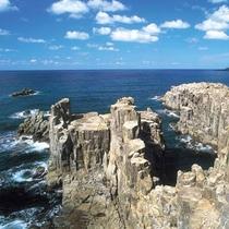 【東尋坊】断崖絶壁の名勝