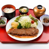 ステーキ定食(イメージ)