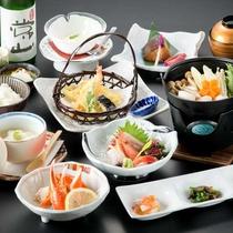 【《冬》菊御膳】旬の食材を厳選し、心を込めてお届けする和食膳。ボリューム控えめ
