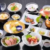 *【《夏》菊御膳】旬の食材を厳選した、ボリューム控えめの和食膳。