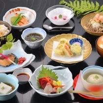 *【《夏》ミニ会席】新鮮なお造りや、天ぷらなど。旬の食材をお楽しみください。