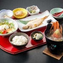 【《冬》朝食】和定食をご用意。朝食で元気をチャージしてお出かけください♪